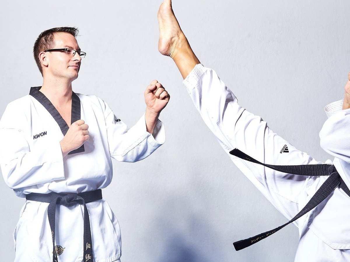 Taekwondo, Kampfsportart, Sportart mit T, Verteidigung, Sport mit O am Ende, Sport