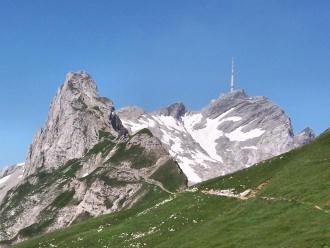 Säntis appenzeller alpen schweiz